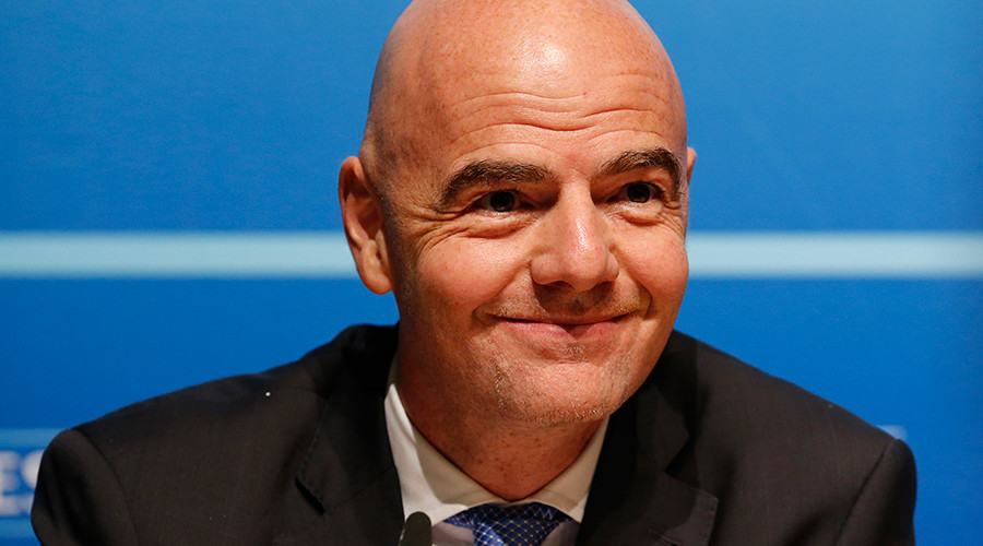 English FA backs UEFA candidate Infantino for FIFA presidency