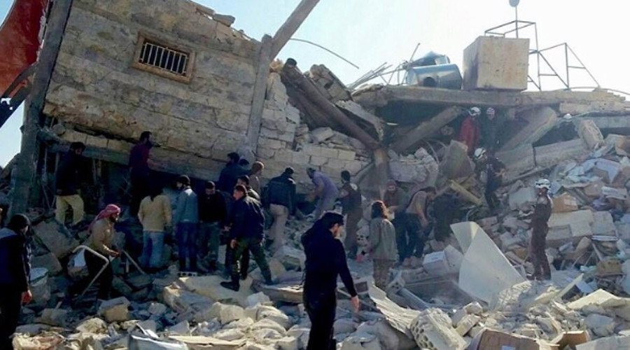 MSF admits withholding Syria hospital coordinates from Damascus & Moscow