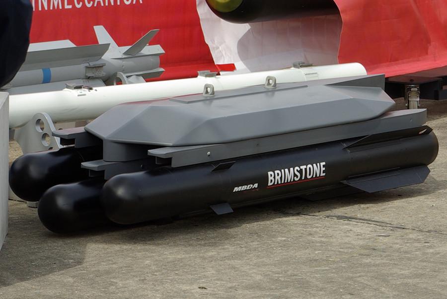 Missiles MBDA Brimstone © wikipedia.org