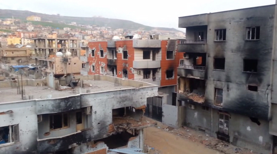 Shocking aftermath from Kurdish Cizre where scores allegedly torched to death (VIDEO)