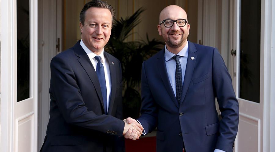 Bizarre Brexit tactics: Cameron's Peter Rabbit diplomacy and 'pull out' condoms