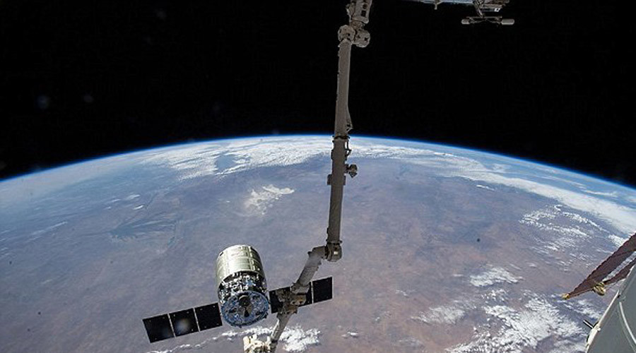 Taking out the trash: International Space Station unloads 1.5 tons of garbage into orbit