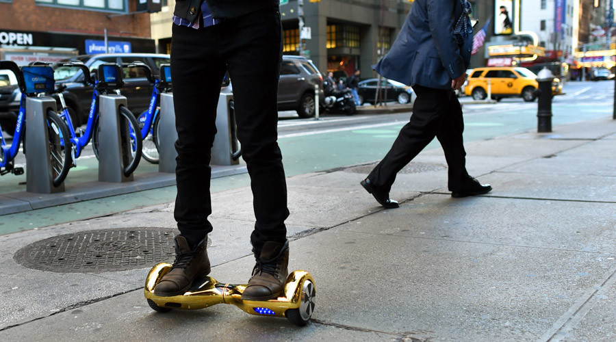 'Unreasonable risk of fire': Feds rule hoverboards unsafe
