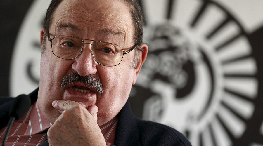 Philosopher and writer Umberto Eco dies at the age of 84