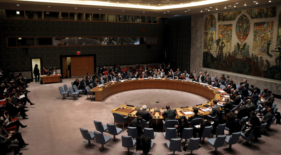 The United Nations Security Council. © Mike Segar