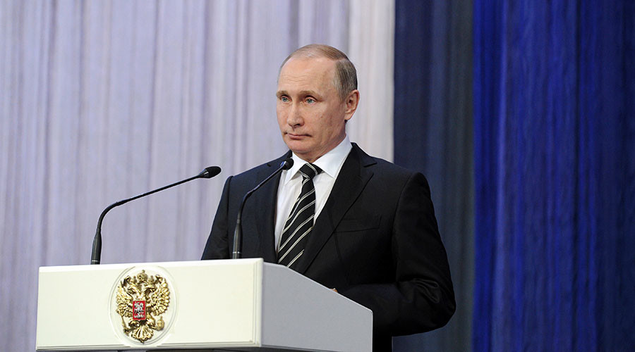 Putin: Russian military potential increasing every year