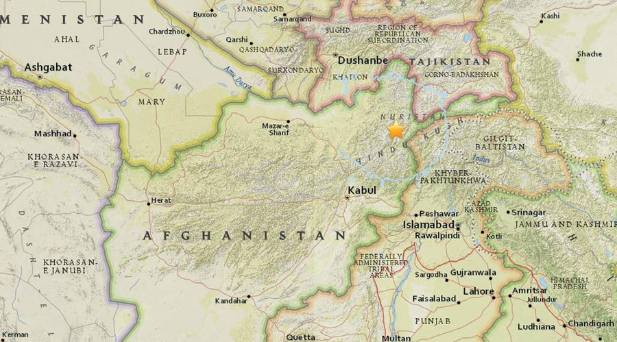 5.5-magnitude earthquake strikes northern Afghanistan, tremors felt in Kabul
