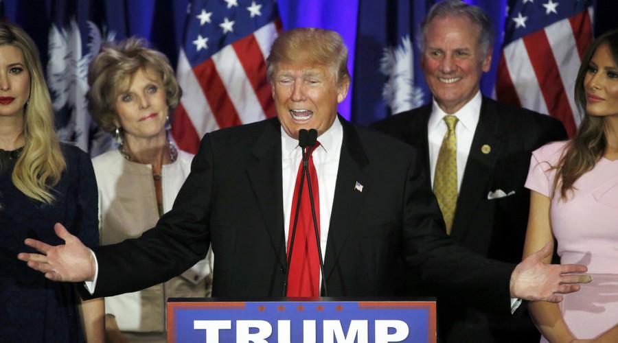 Republican U.S. presidential candidate Donald Trump. © Jonathan Ernst