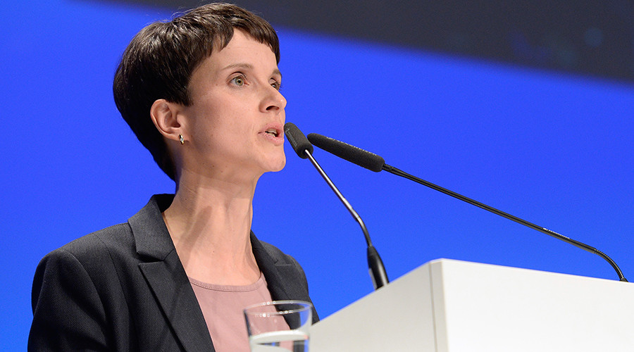 "Frauke Petry, chairwoman of eurosceptic German party ""Alternative fuer Deutschland"" or Alternative for Germany (AfD) © Fabian Bimmer"