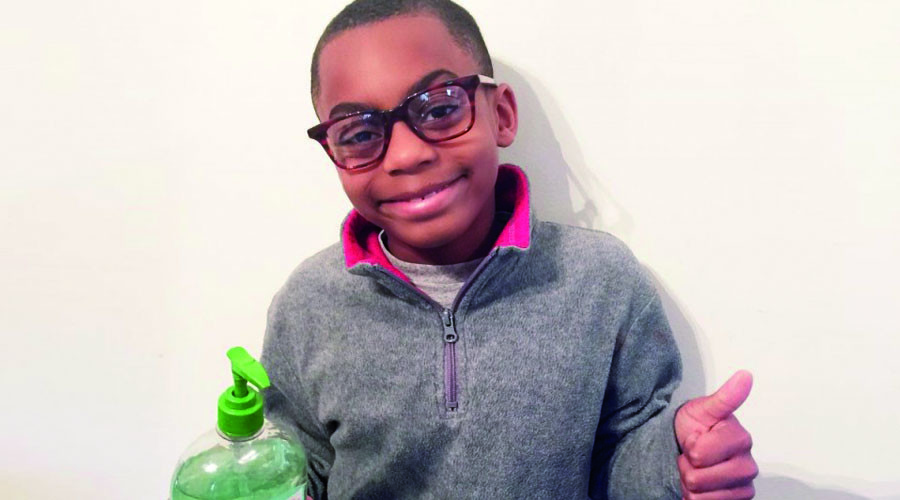 Virginia 2nd-grader raises $10k to bring hand sanitizer to Flint schools