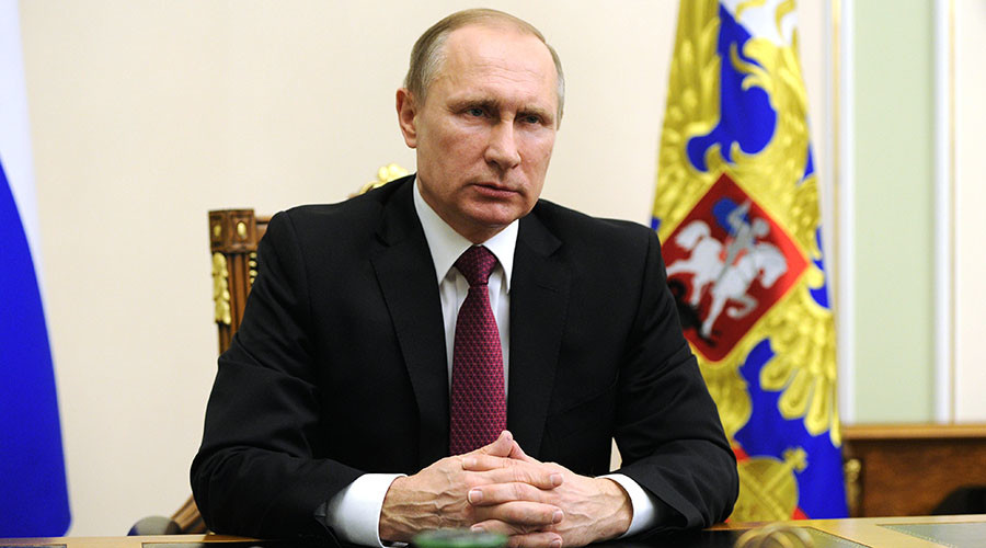 Putin: Syrian truce is real chance to end bloodshed [FULL STATEMENT]