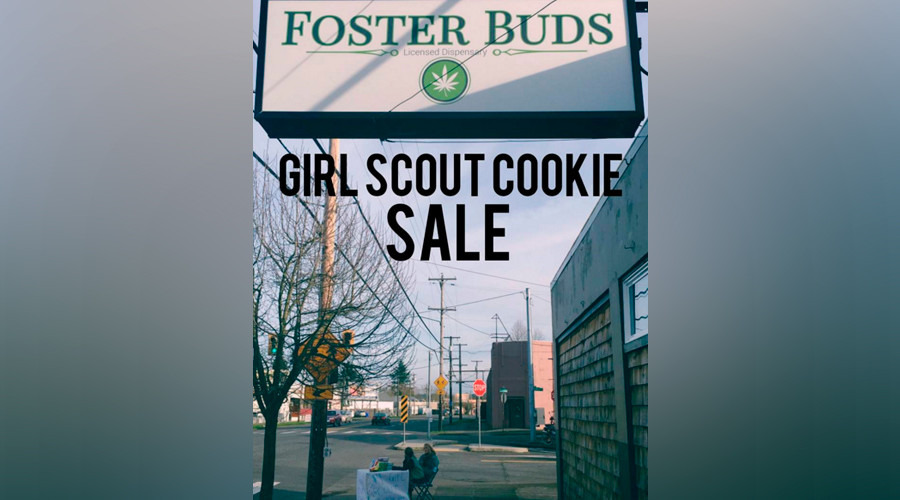 Entrepreneur of the Year: Girl scout sells cookies outside pot shop