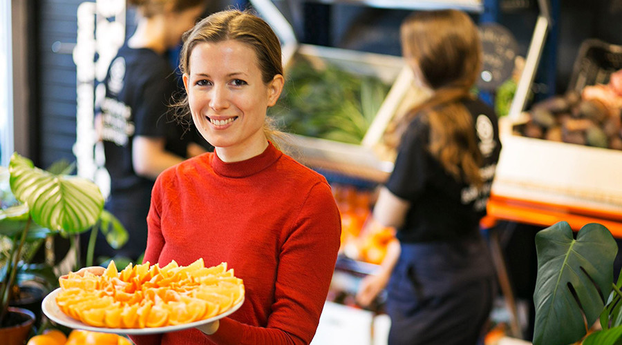 Denmark opens 1st food waste supermarket