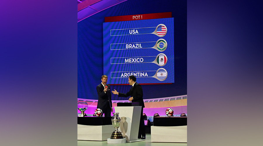 Hosts USA handed tough 2016 Copa America group