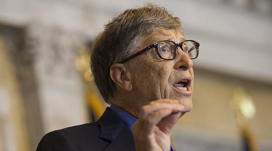 Bill Gates, co-chair of the Bill and Melinda Gates Foundation and founder of Microsoft. © Saul Loeb