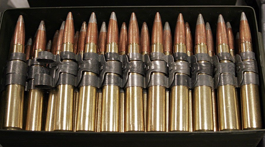 Magic bullets: US military patents 'safer' self-destruct ammo for use in cities