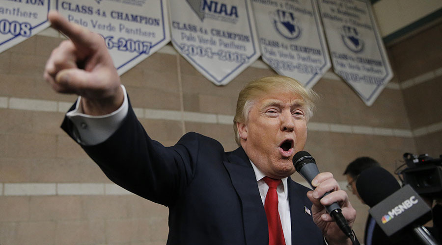 Trump claims big victory in Nevada GOP caucuses