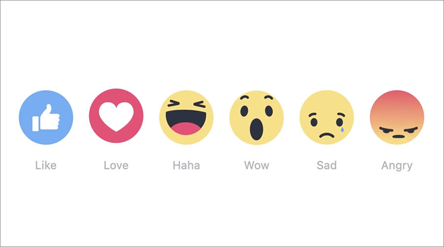 What, no 'meh'? Facebook finally rolls out reaction ...