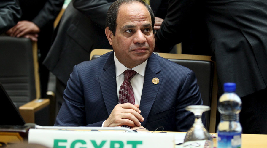 Egypt's President Abdel Fattah al-Sisi © Tiksa Negeri