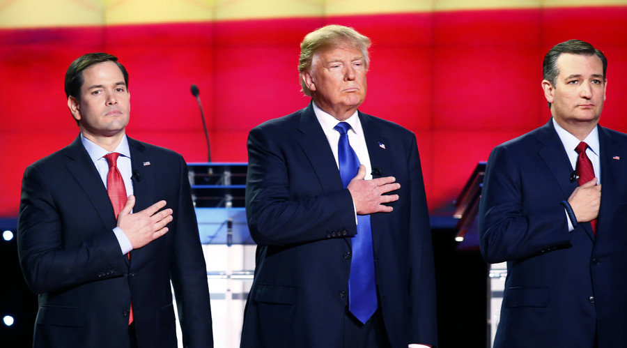 Liar! Liar! - Republican debate descends into battle of insults