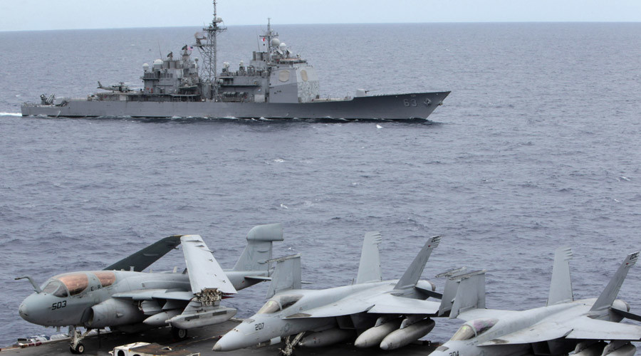 What is America doing in the South China Sea?