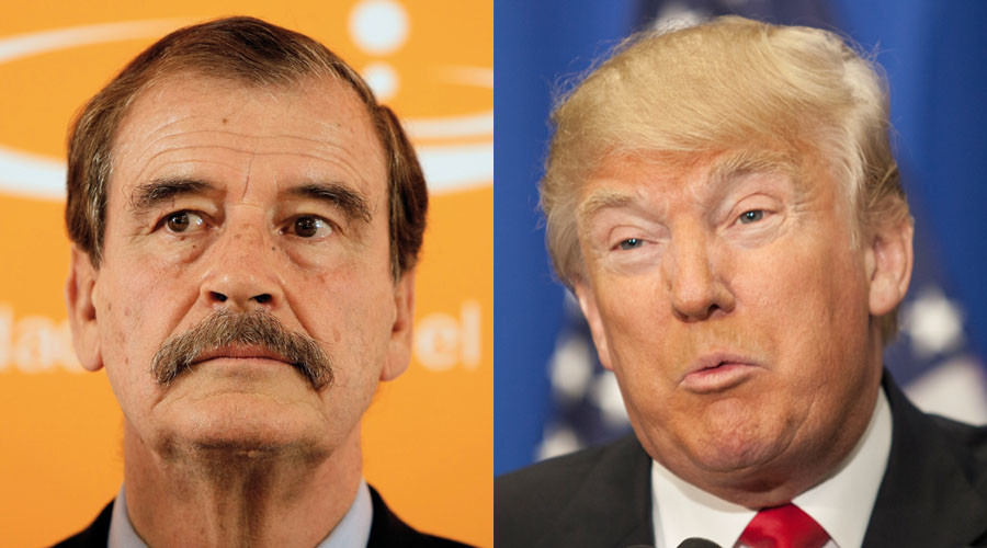 Trump 'reminds me of Hitler' - ex-Mexican President Vicente Fox