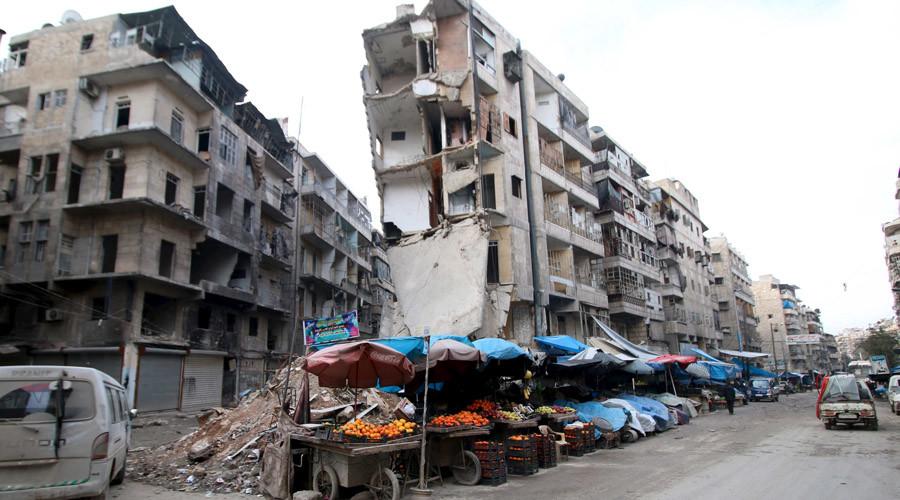 Aleppo, Syria, February 10, 2016. © Abdalrhman Ismail