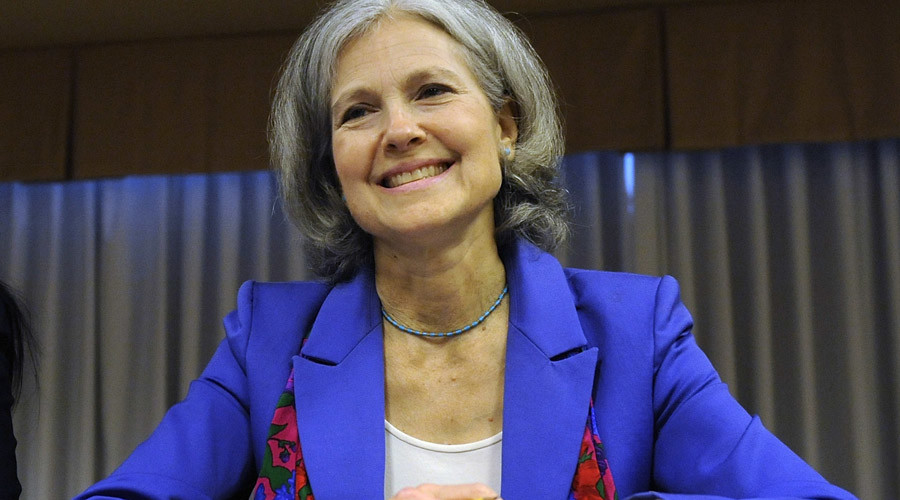 'Clinton & Trump both representatives of oligarchy' - Jill Stein, Green Party presidential candidate