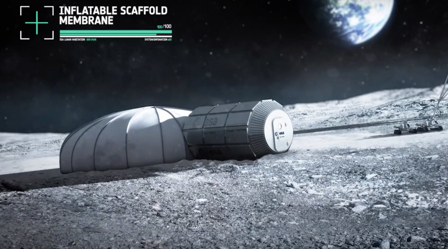 Next stop, Lunar City: 3D-printed space pods to form permanent 'moon village'