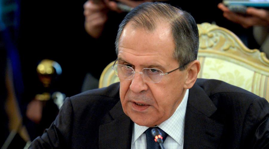 Russian Foreign Minister Sergei Lavrov. © Mikhail Voskresenskiy