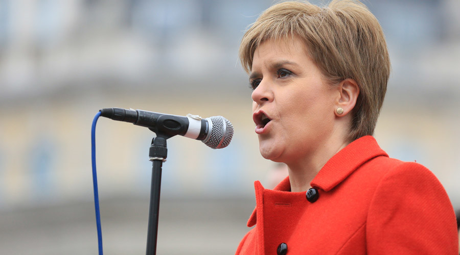 Scottish National party leader and Scotland's first minister Nicola Sturgeon © Paul Hackett