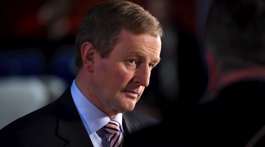 Irish Prime Minister Enda © Clodagh Kilcoyne
