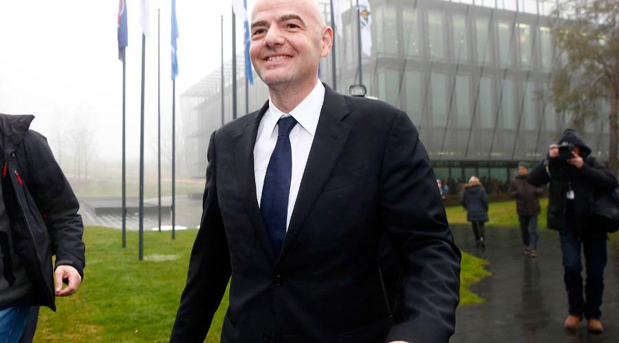 New FIFA President Gianni Infantino © Arnd Wiegmann