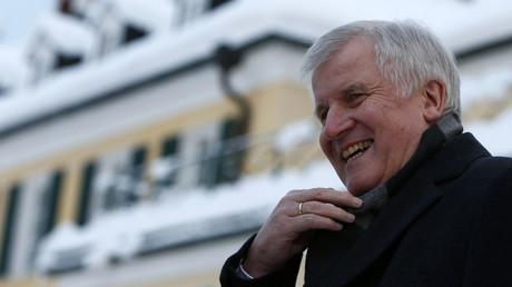 Bavarian state premier and leader of the Christian Social Union (CSU) Horst Seehofer. © Michaela Rehle