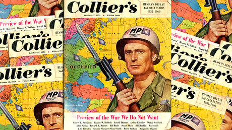 Collier's magazine cover, October 1951