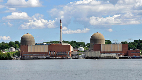 Indian Point Nuclear Power Plant on the Hudson river © wikipedia.org