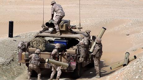 UAE soldiers © Karim Sahib