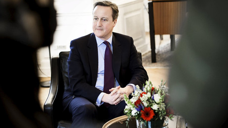 British Prime Minister David Cameron. © Kacper Pempel