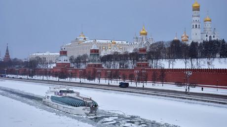 The Moscow Kremlin and the Kremlin Embankment. © Olga Golovko