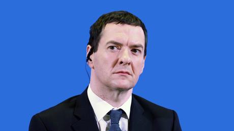 British Finance Minister George Osborne. © Alessandro Bianchi