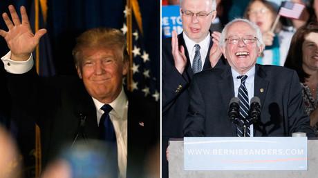 Donald Trump, Bernie Sanders  © Jim Bourg, Rick Wilking