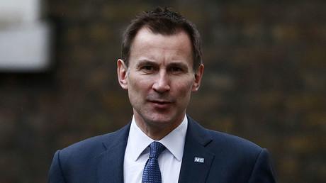 Britain's Health Secretary Jeremy Hunt. ©Stefan Wermuth