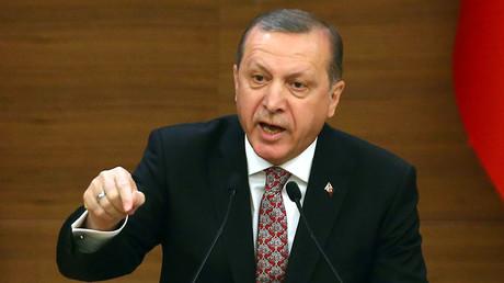 Turkey's President Recep Tayyip Erdogan. ©Adem Altan