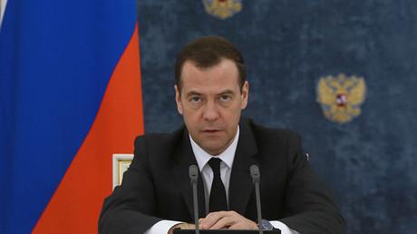 Russian Prime Minister Dmitry Medvedev © Ekaterina Shtukina