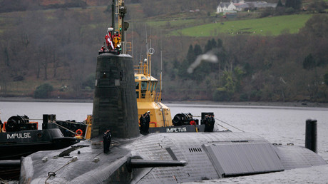 Crew from HMS Vengeance, a British Royal Navy Vanguard class Trident Ballistic Missile Submarine © David Moir
