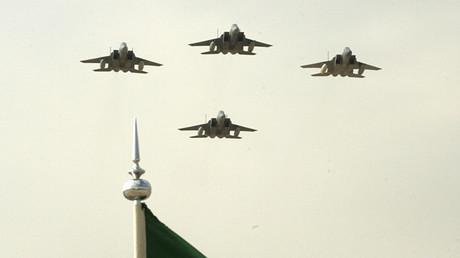 Saudi air force jets © Ali Jarekji