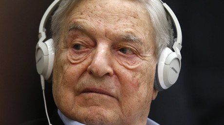 Georges Soros, Chairman of Soros Fund Management © Charles Platiau