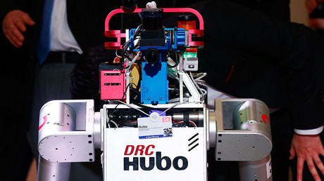 HUBO is a Korean designed robot that can do human tasks. © Ruben Sprich