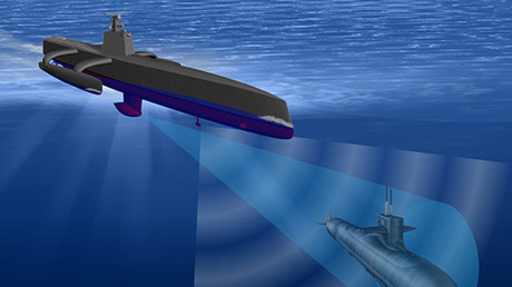 The Anti-Submarine Warfare (ASW) Continuous Trail Unmanned Vessel (ACTUV) is developing an unmanned vessel optimized to robustly track quiet diesel electric submarines. © darpa.mil