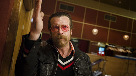 Jesse Hughes, lead singer of Eagles of Death Metal. © Vilhelm Stokstad / TT News Agency